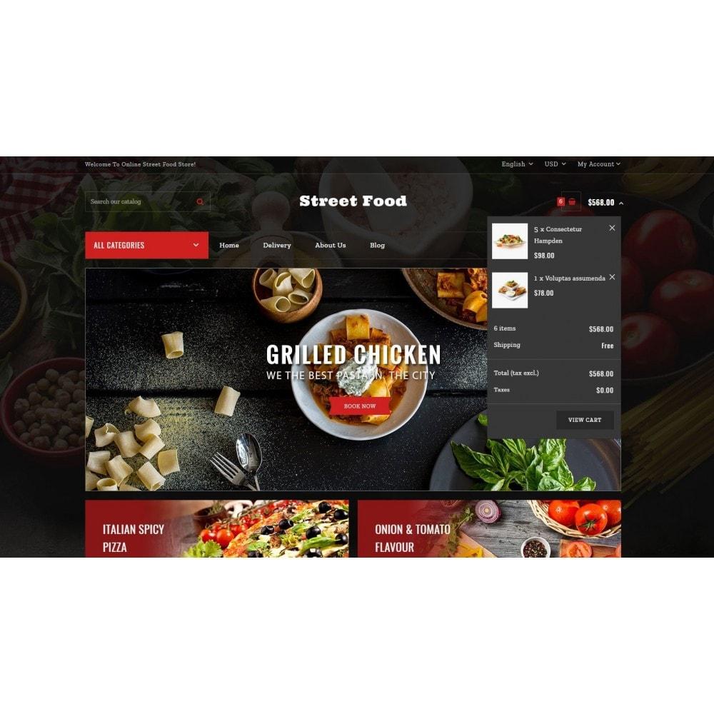 theme - Eten & Restaurant - Street Food Store - 6