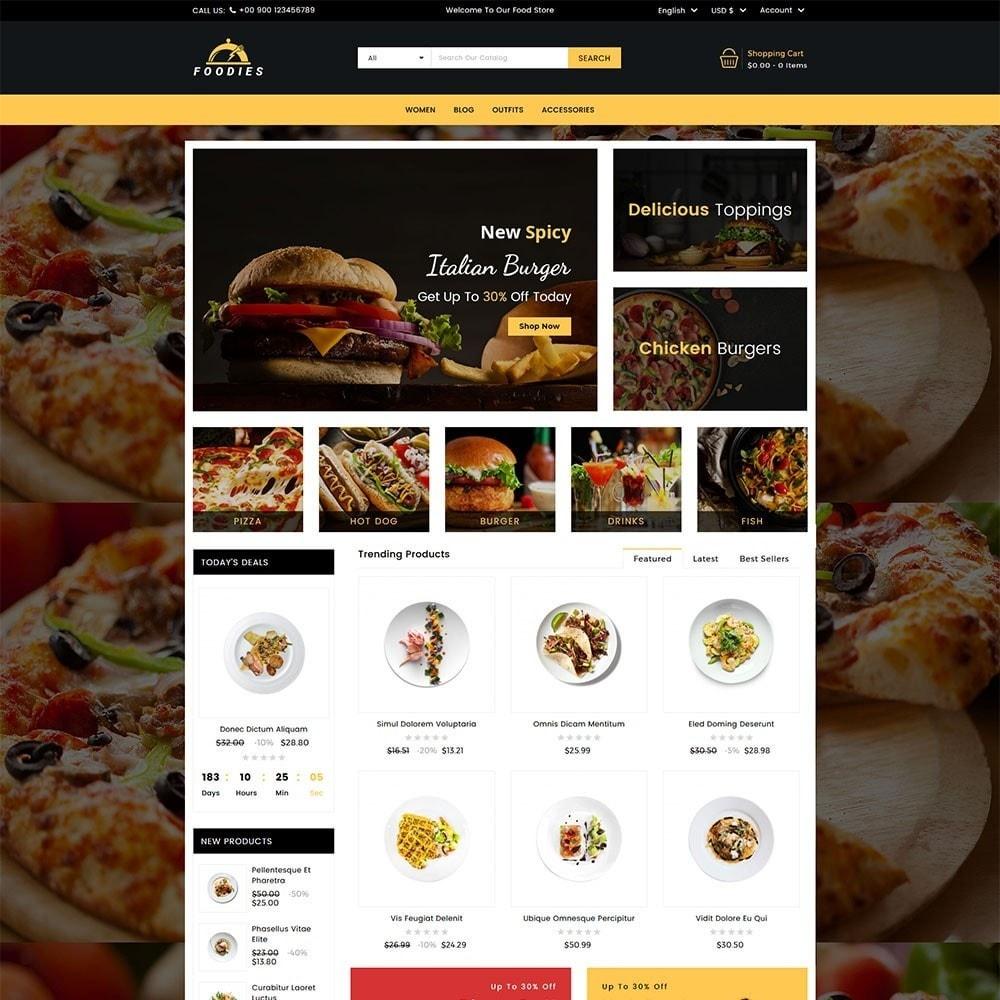 theme - Cibo & Ristorazione - Foodies Food Store - 2