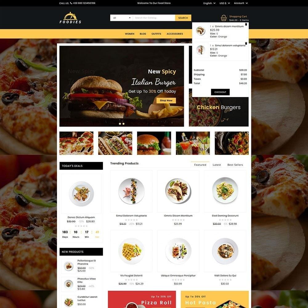 theme - Cibo & Ristorazione - Foodies Food Store - 3