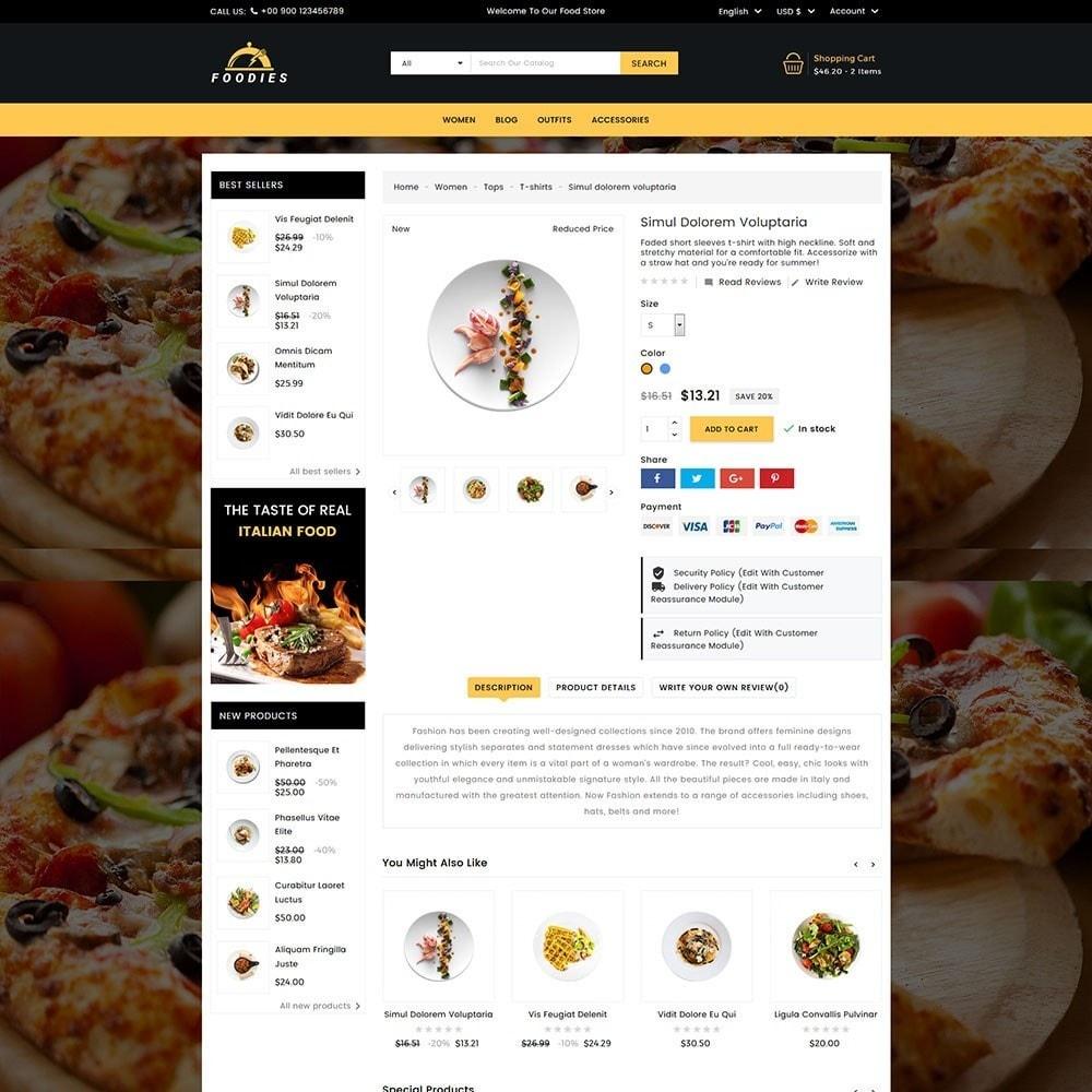 theme - Cibo & Ristorazione - Foodies Food Store - 4