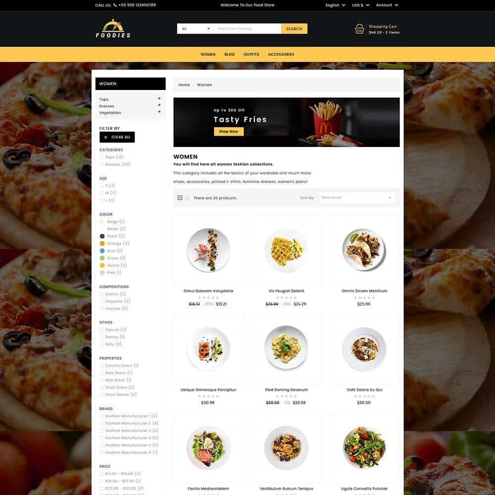 theme - Cibo & Ristorazione - Foodies Food Store - 5