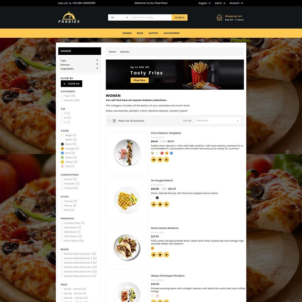 theme - Cibo & Ristorazione - Foodies Food Store - 6