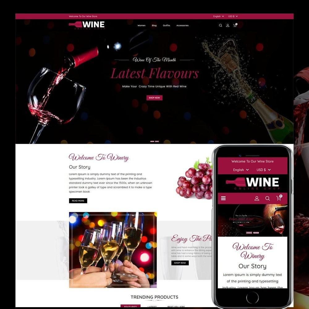 theme - Napoje & Wyroby tytoniowe - Wine Online Shop - 1
