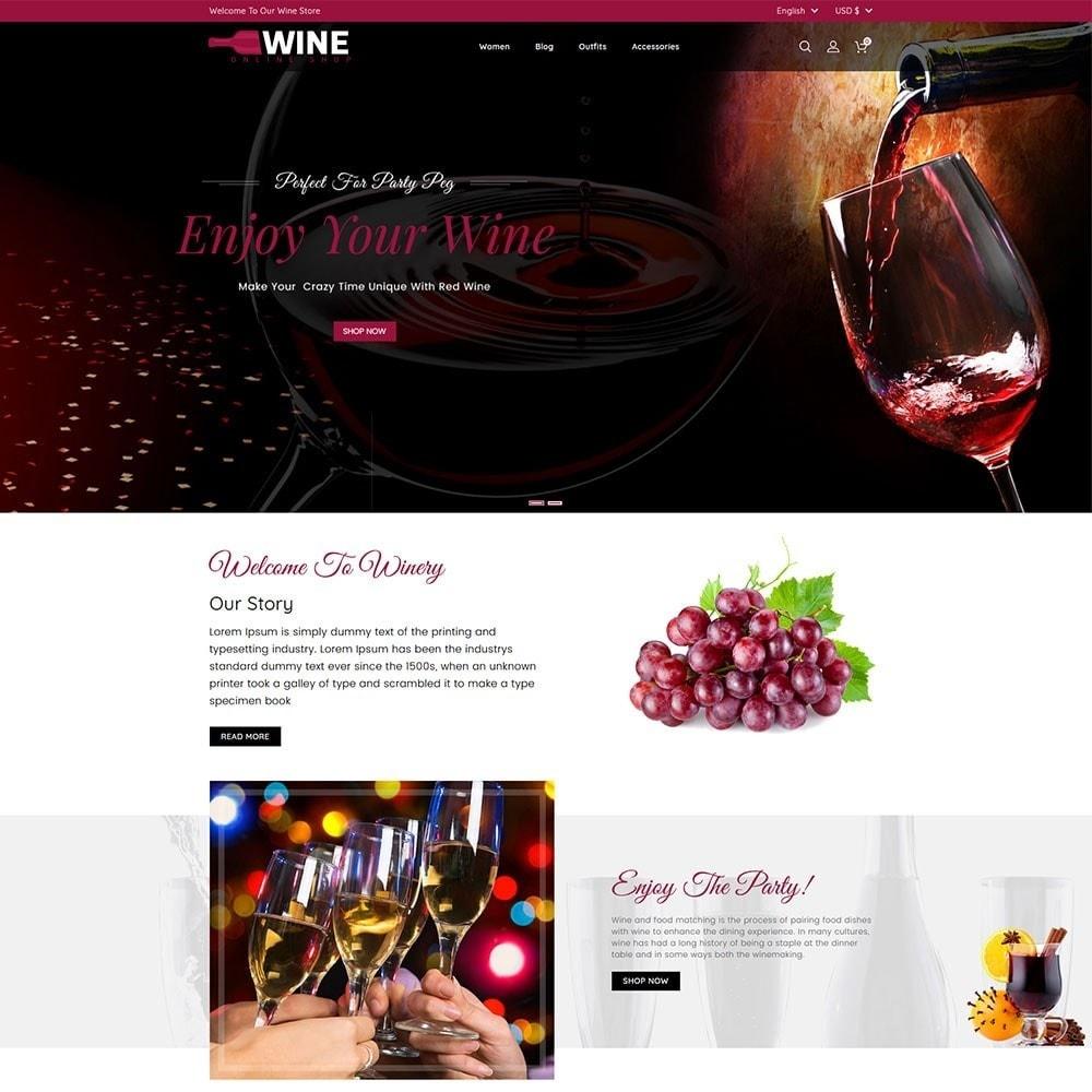 theme - Napoje & Wyroby tytoniowe - Wine Online Shop - 2