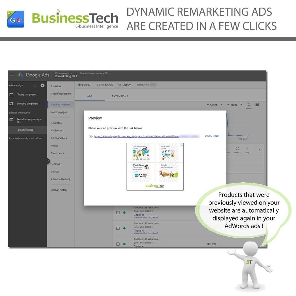module - Remarketing & Achtergelaten winkelmanden - Google Dynamic Remarketing - 4