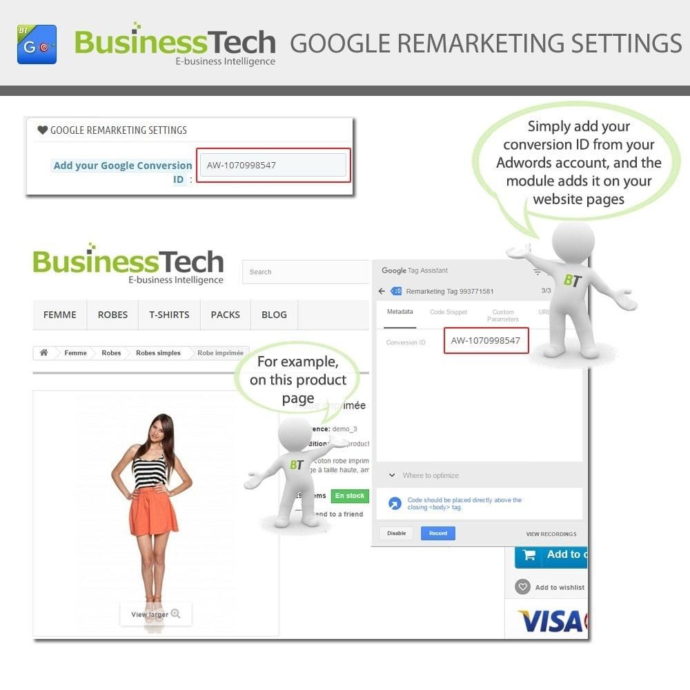 module - Remarketing & Achtergelaten winkelmanden - Google Dynamic Remarketing - 5