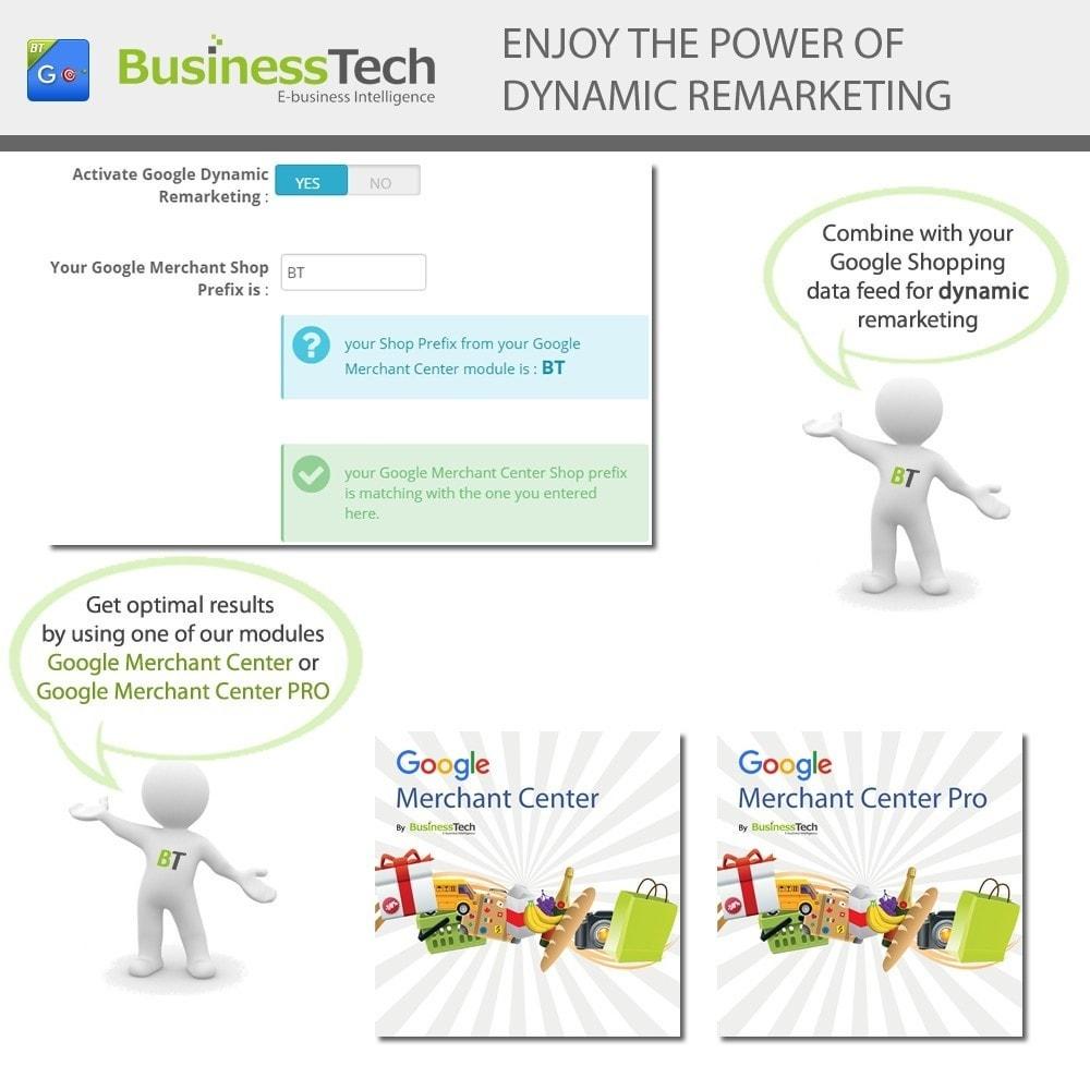 module - Remarketing & Achtergelaten winkelmanden - Google Dynamic Remarketing - 6