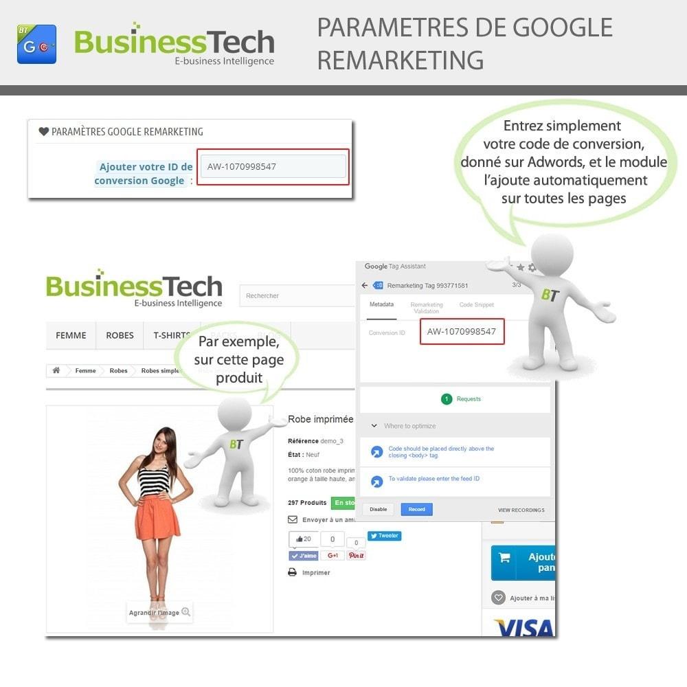module - Remarketing & Paniers Abandonnés - Google Dynamic Remarketing - Balise Google-Ads - 5