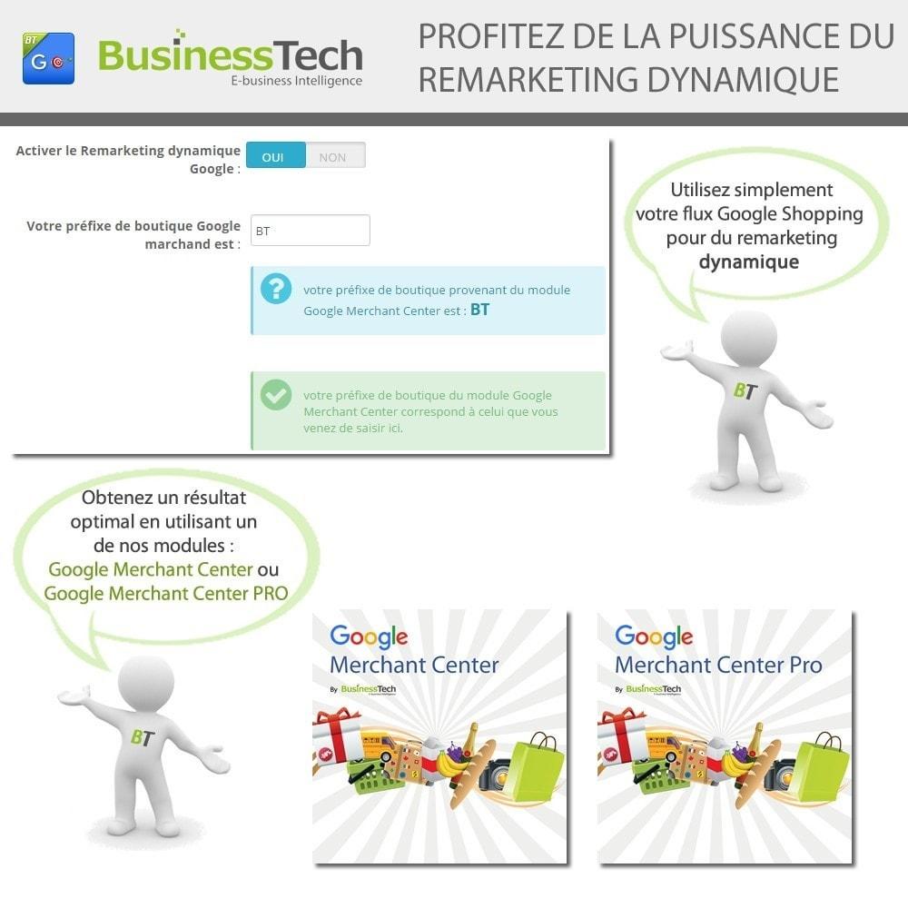 module - Remarketing & Paniers Abandonnés - Google Dynamic Remarketing - Balise Google-Ads - 6