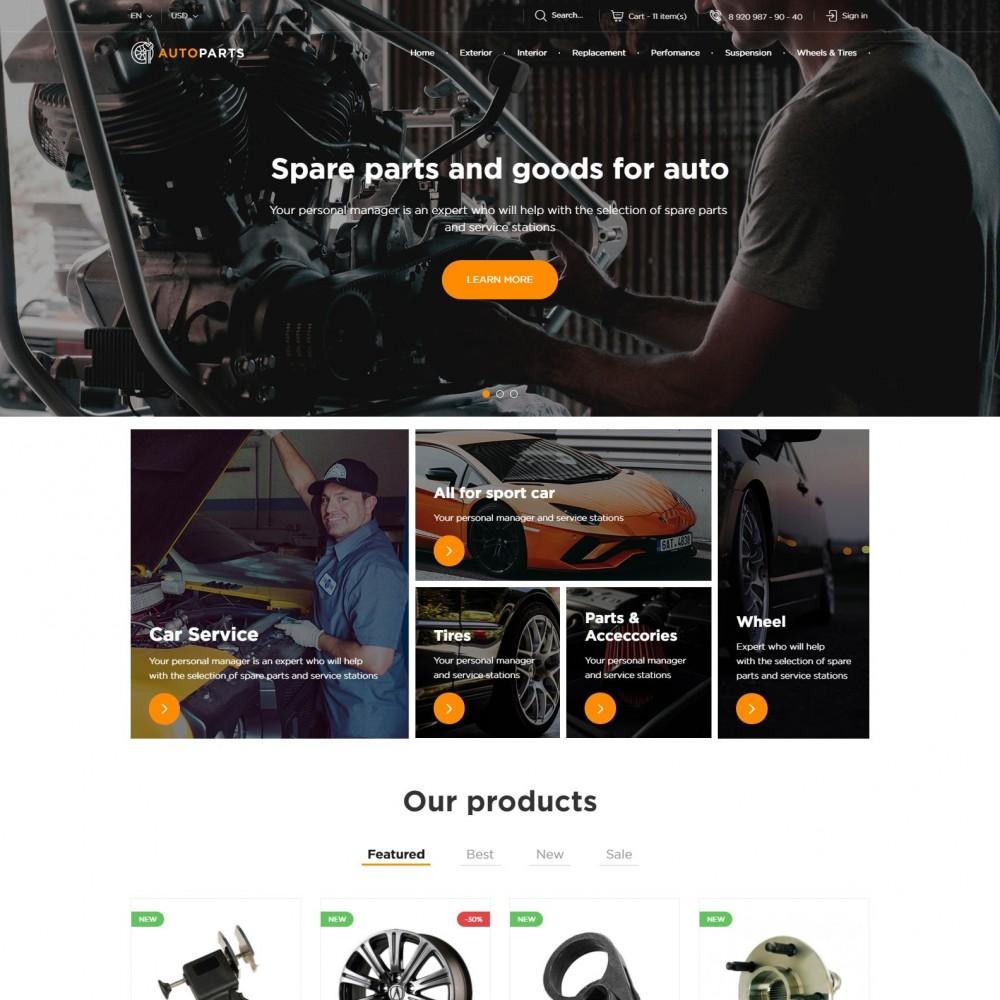 theme - Automotive & Cars - Car Store - 2