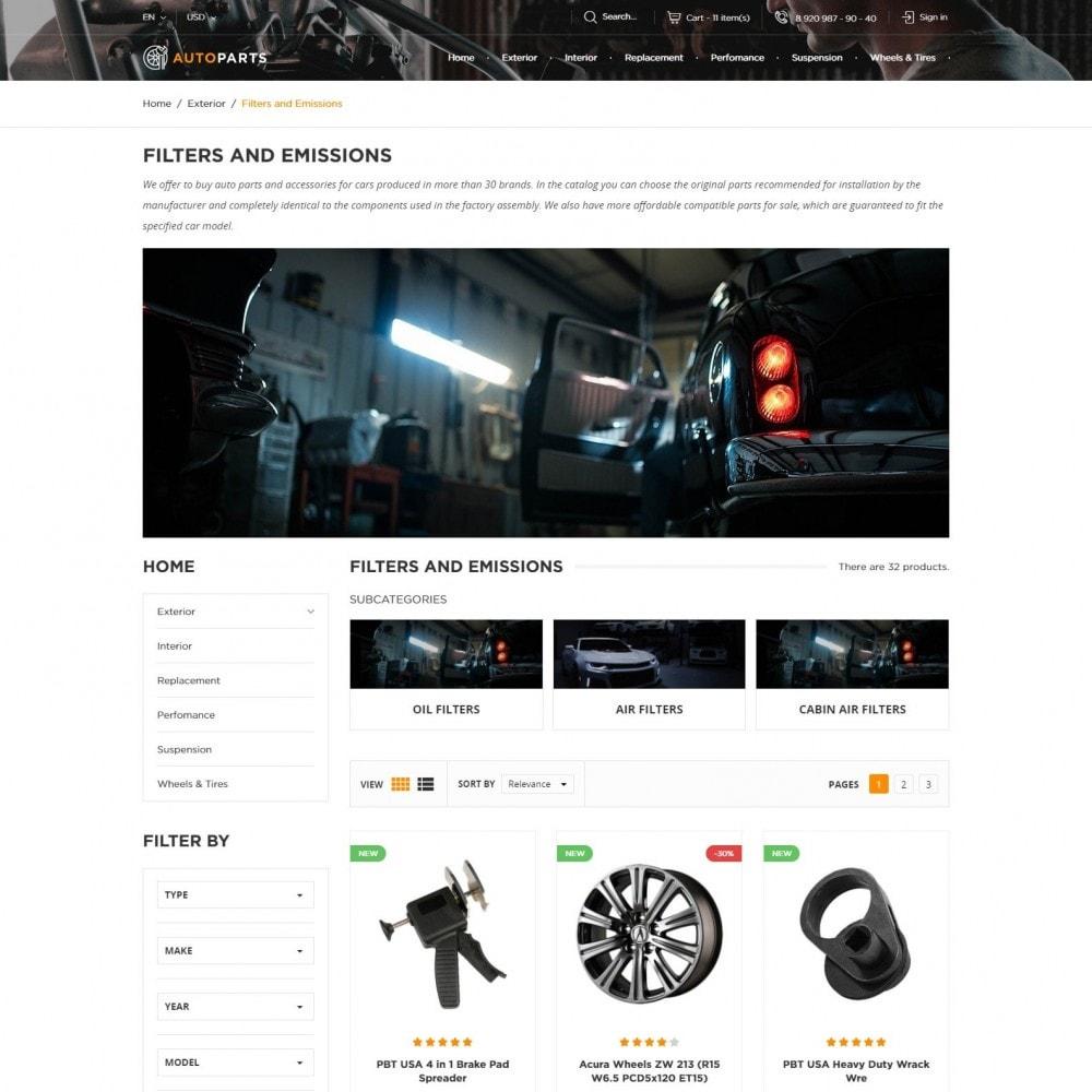 theme - Automotive & Cars - Car Store - 3