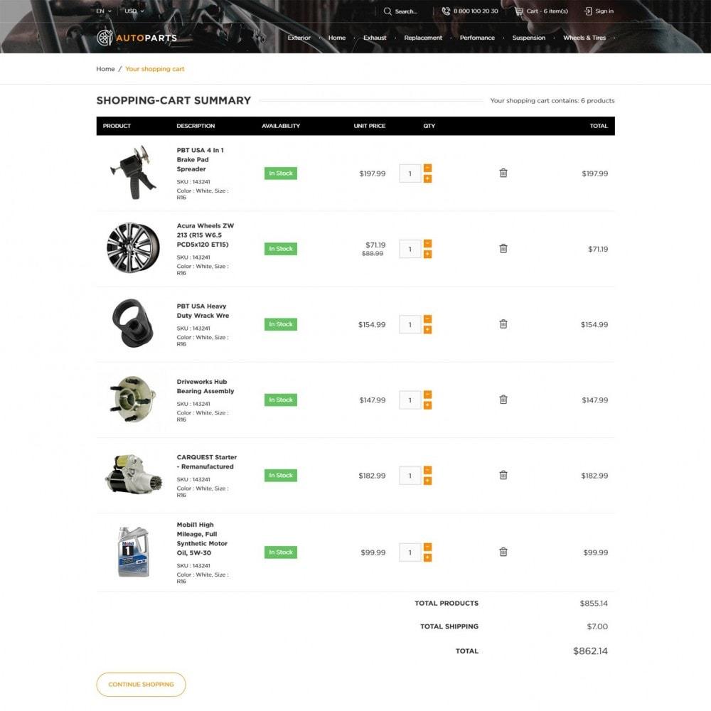 theme - Automotive & Cars - Car Store - 6