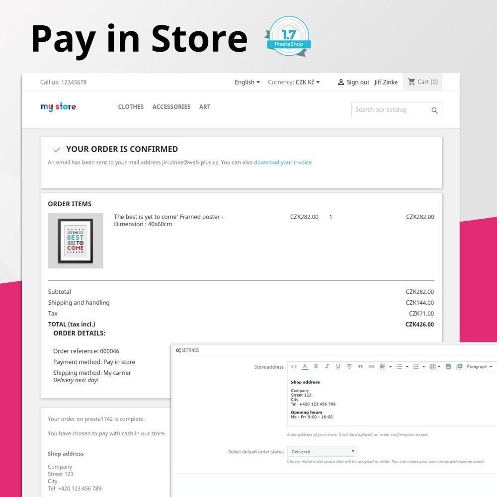 module - Betaling in de Winkel - Pay in store - 1