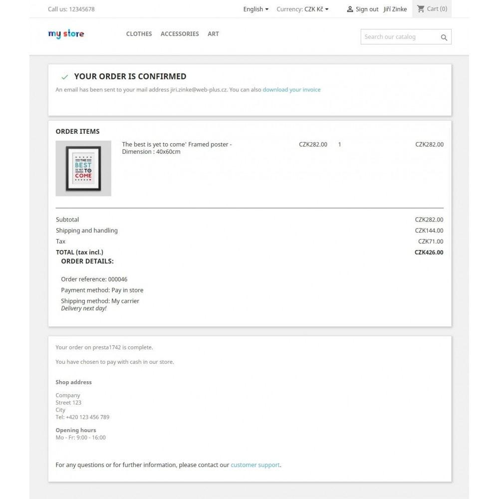 module - Betaling in de Winkel - Pay in store - 3