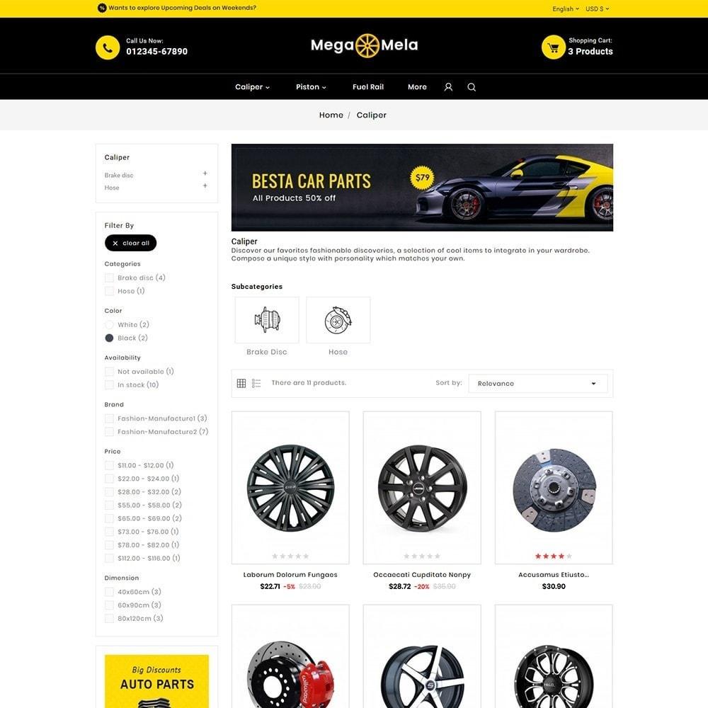 theme - Automotive & Cars - Auto Mega Mela Parts - 4