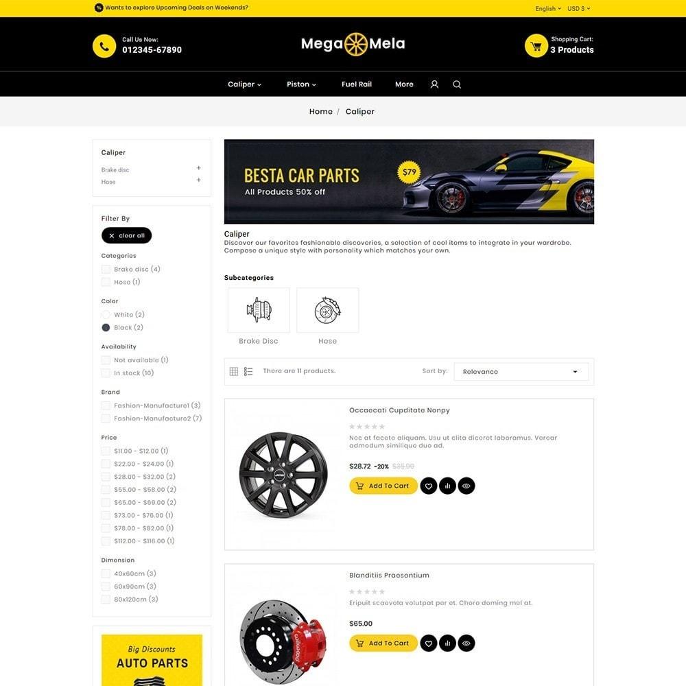 theme - Automotive & Cars - Auto Mega Mela Parts - 5