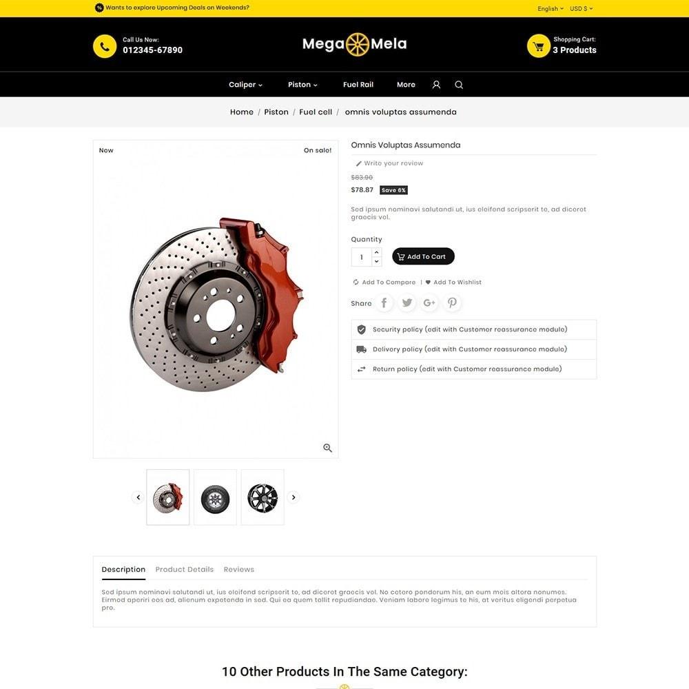 theme - Automotive & Cars - Auto Mega Mela Parts - 6