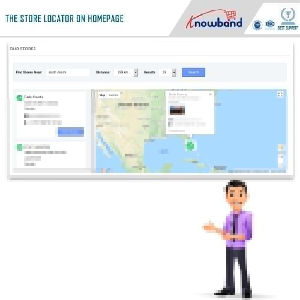 module - Point Relais & Retrait en Magasin - Localisateur de magasins et ramassage - 2