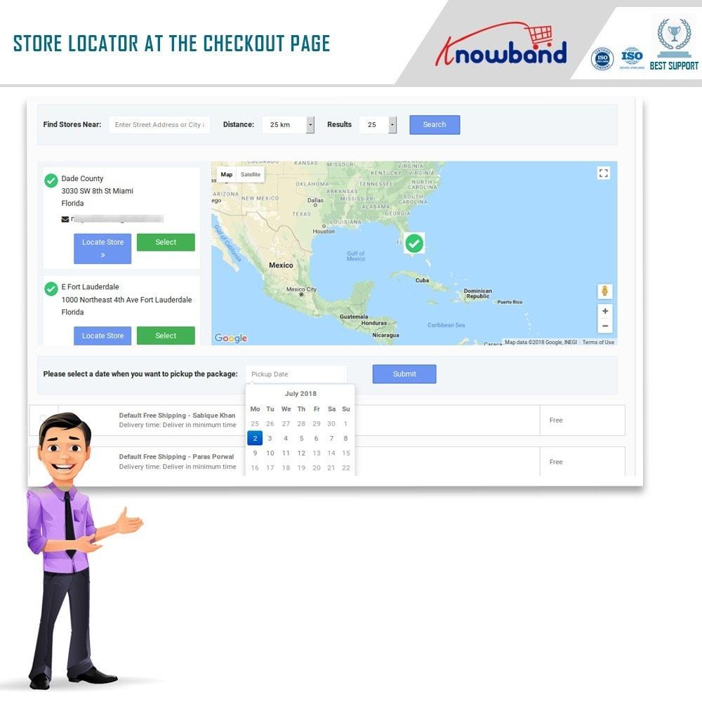 module - Point Relais & Retrait en Magasin - Localisateur de magasins et ramassage - 4