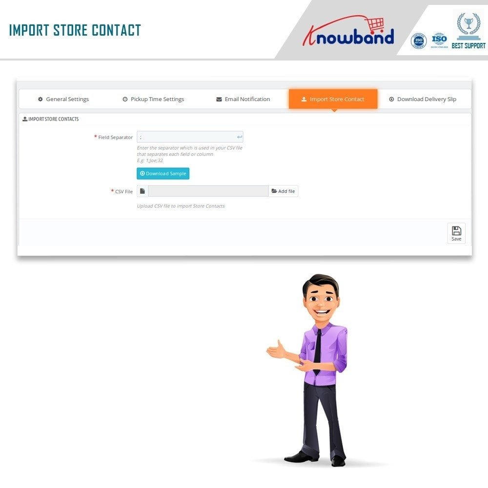 module - Point Relais & Retrait en Magasin - Localisateur de magasins et ramassage - 9