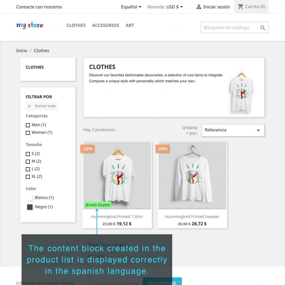 module - Altre informazioni & Product Tab - Product Extra Content - 9