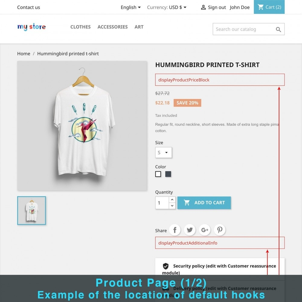 module - Altre informazioni & Product Tab - Product Extra Content - 10