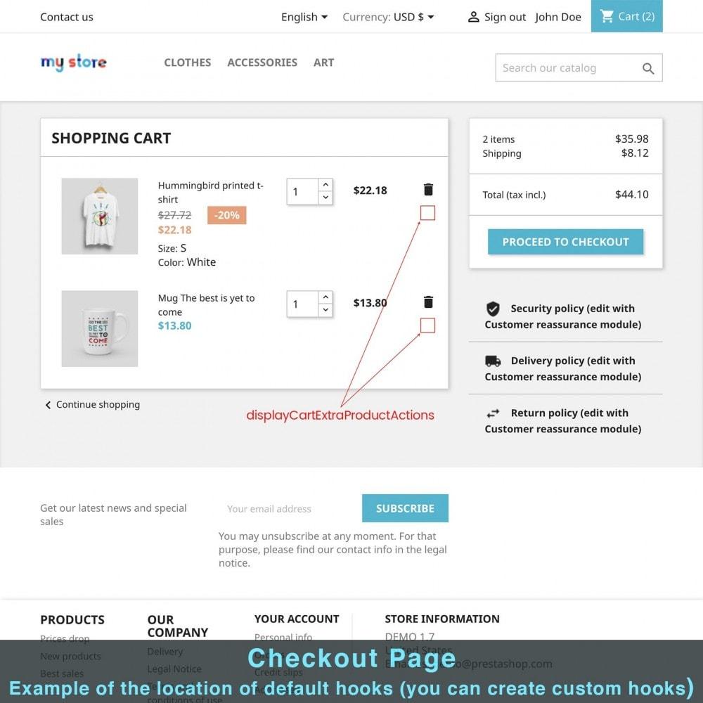 module - Altre informazioni & Product Tab - Product Extra Content - 13