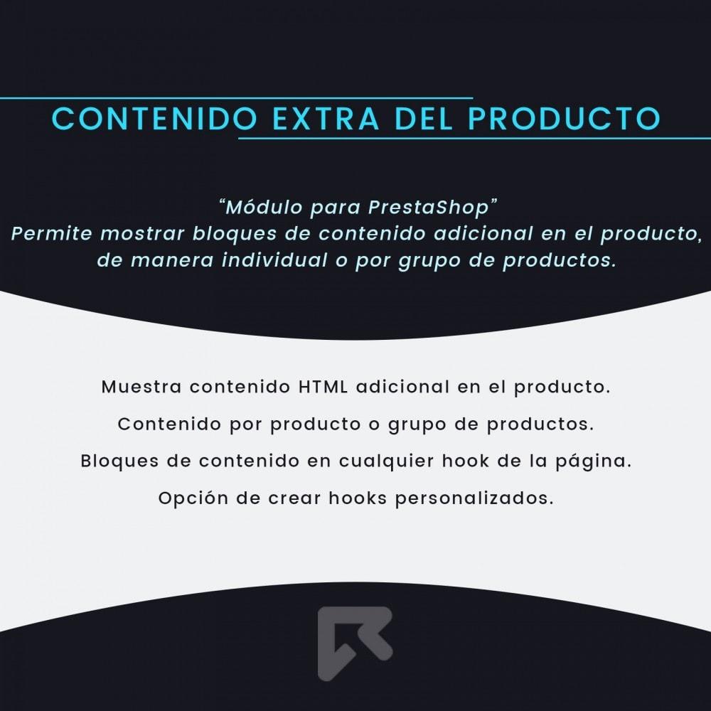 module - Informaciones adicionales y Pestañas - Contenido Extra del Producto - 2