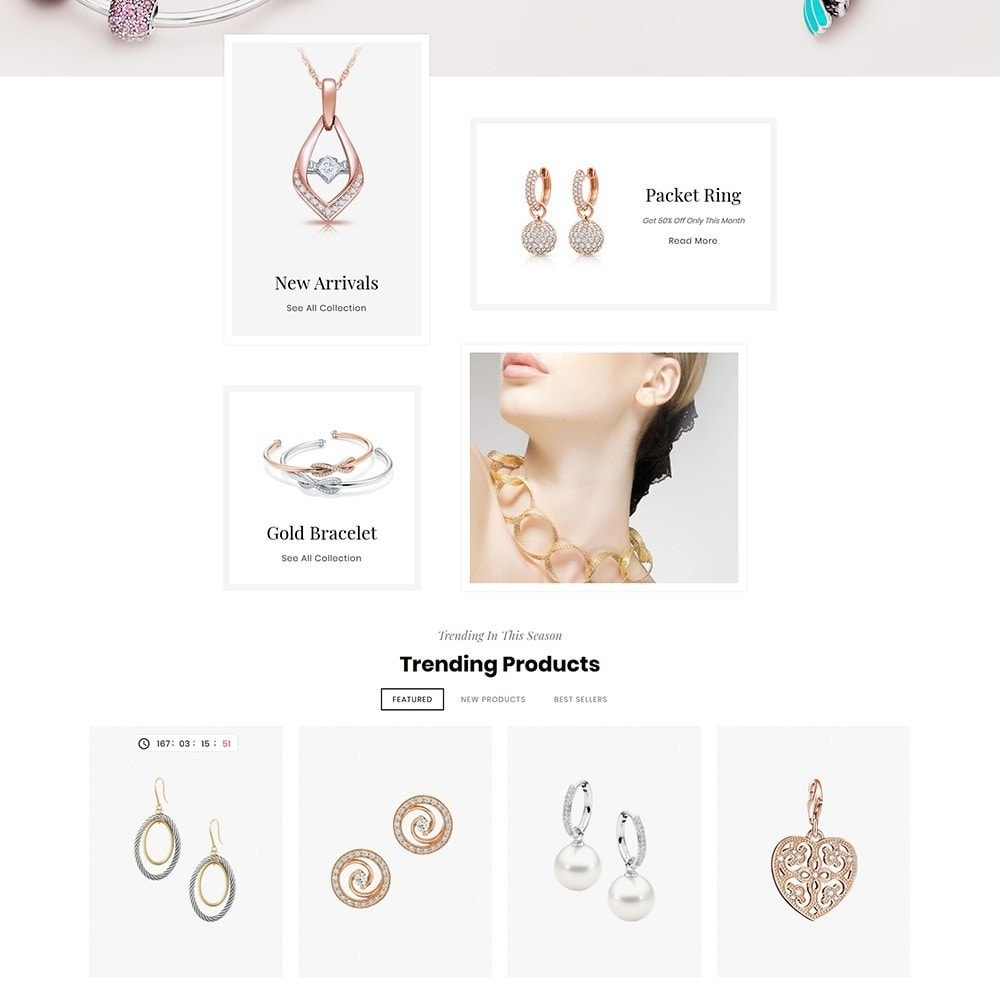 theme - Jewelry & Accessories - Bravo Jewelry Diamond - 4