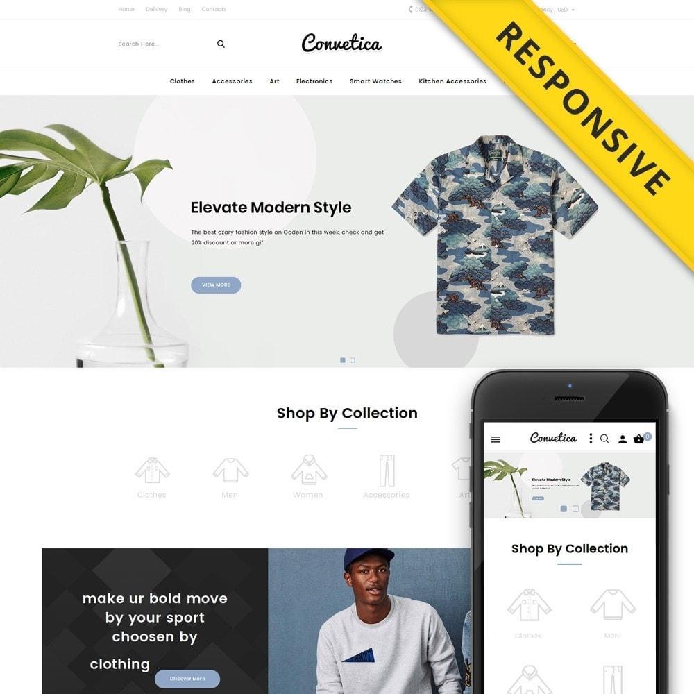 theme - Fashion & Shoes - Convetica - Fashion Store - 1