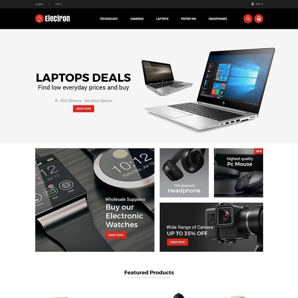 theme - Elektronika & High Tech - Electron Electronics Store - 1
