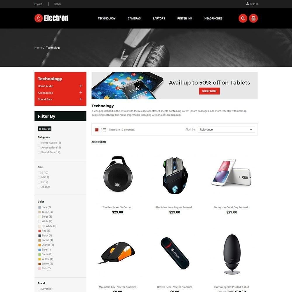theme - Elektronika & High Tech - Electron Electronics Store - 2