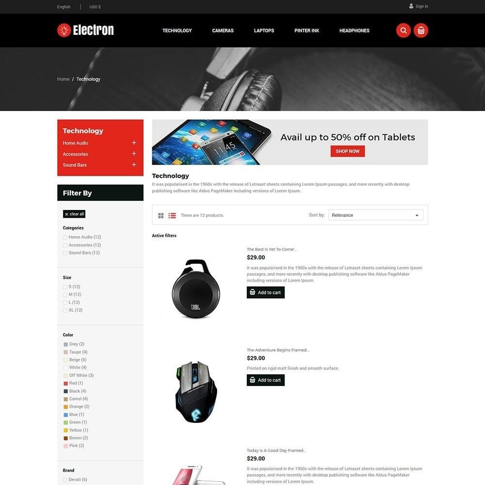theme - Elektronika & High Tech - Electron Electronics Store - 3