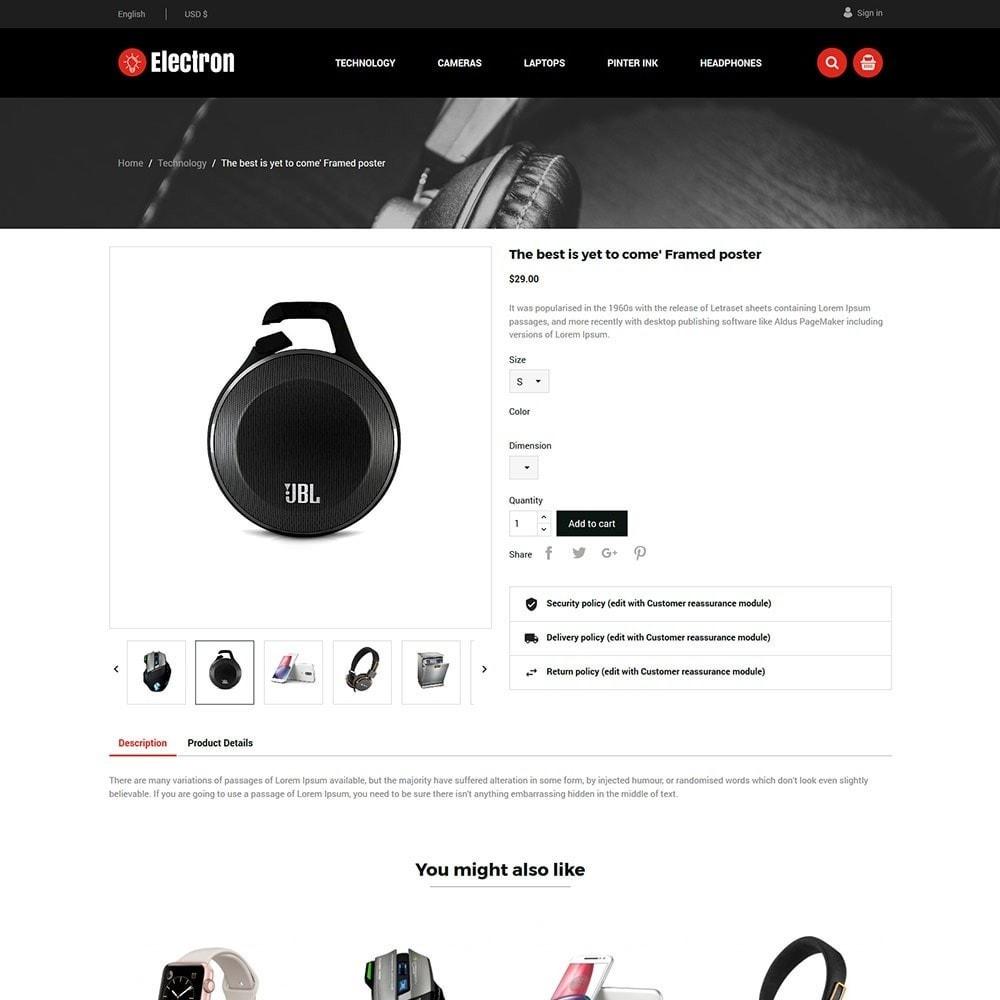 theme - Elektronika & High Tech - Electron Electronics Store - 4