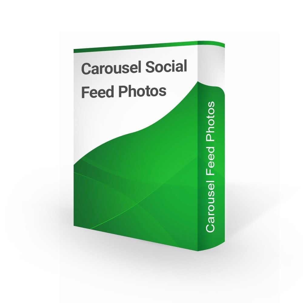 module - Gallerijen & Sliders - Easy Carousel Social Feed Photos - 1