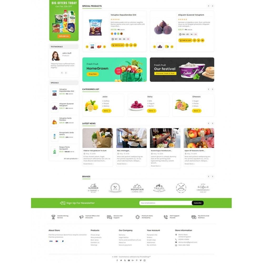 theme - Food & Restaurant - Mega Deals Organic Grocery - 3