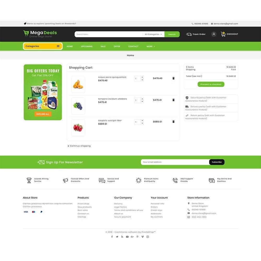 theme - Food & Restaurant - Mega Deals Organic Grocery - 7
