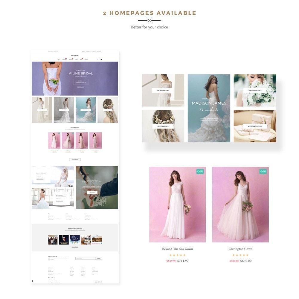 theme - Fashion & Shoes - Maggie Store - Wedding Dress & Fashion Store - 1