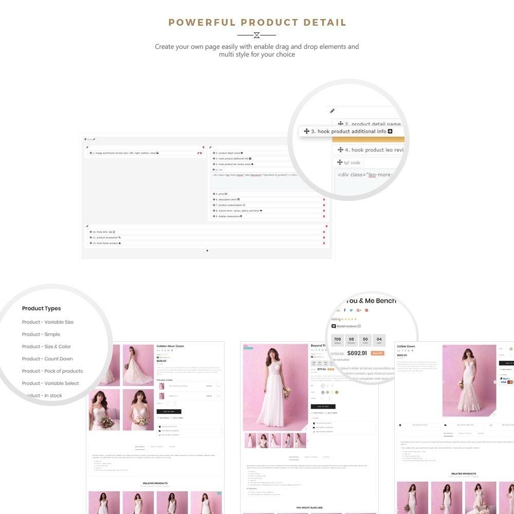 theme - Fashion & Shoes - Maggie Store - Wedding Dress & Fashion Store - 4