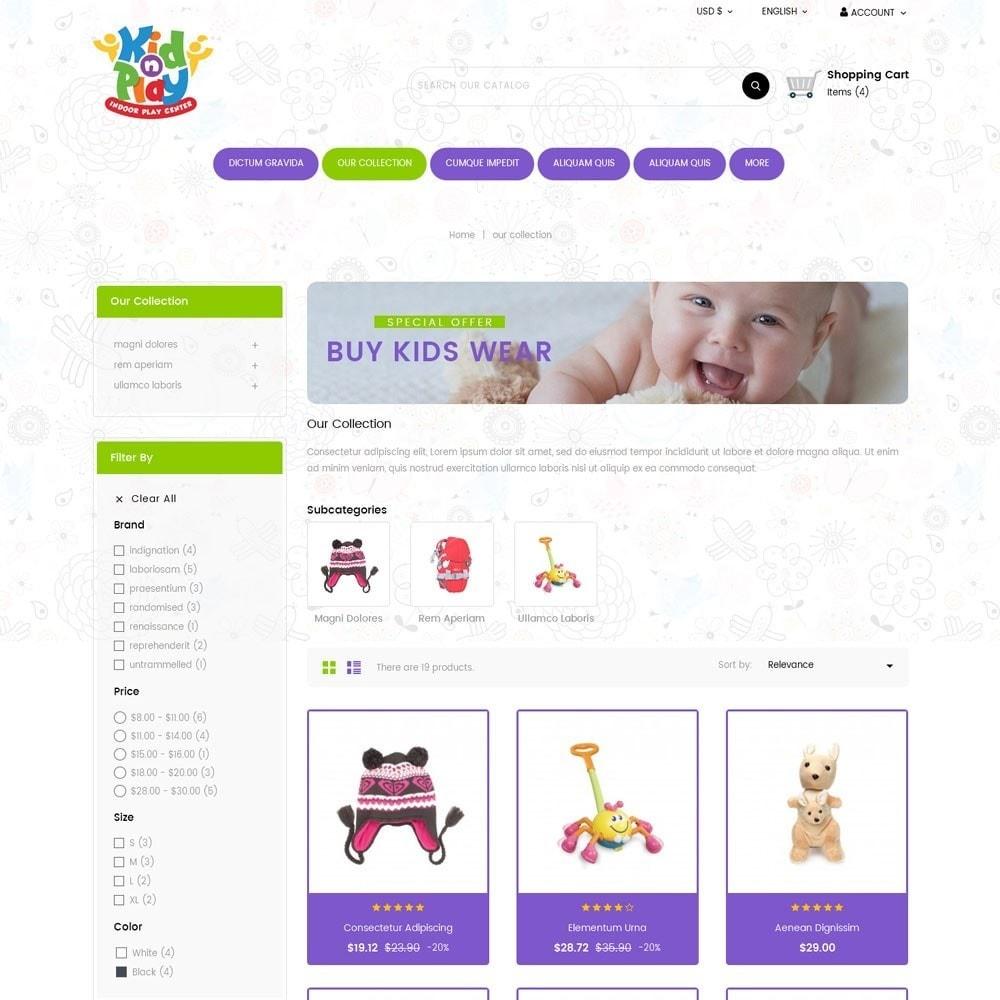 theme - Kids & Toys - Kidplay - The Toy Store - 4