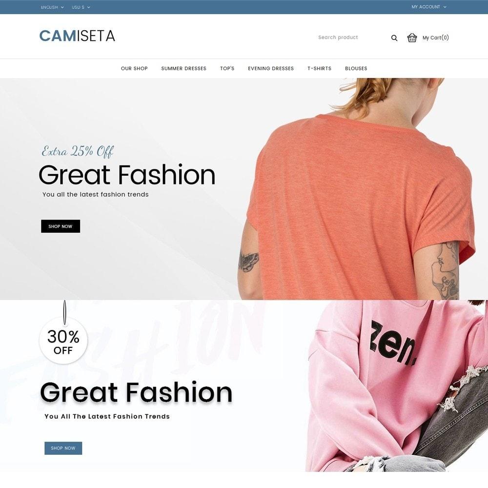 theme - Fashion & Shoes - Camiseta - The Fashion Store - 2