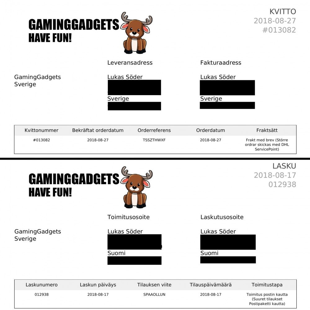 module - Klantendienst - Invoices in Customers Language - 3