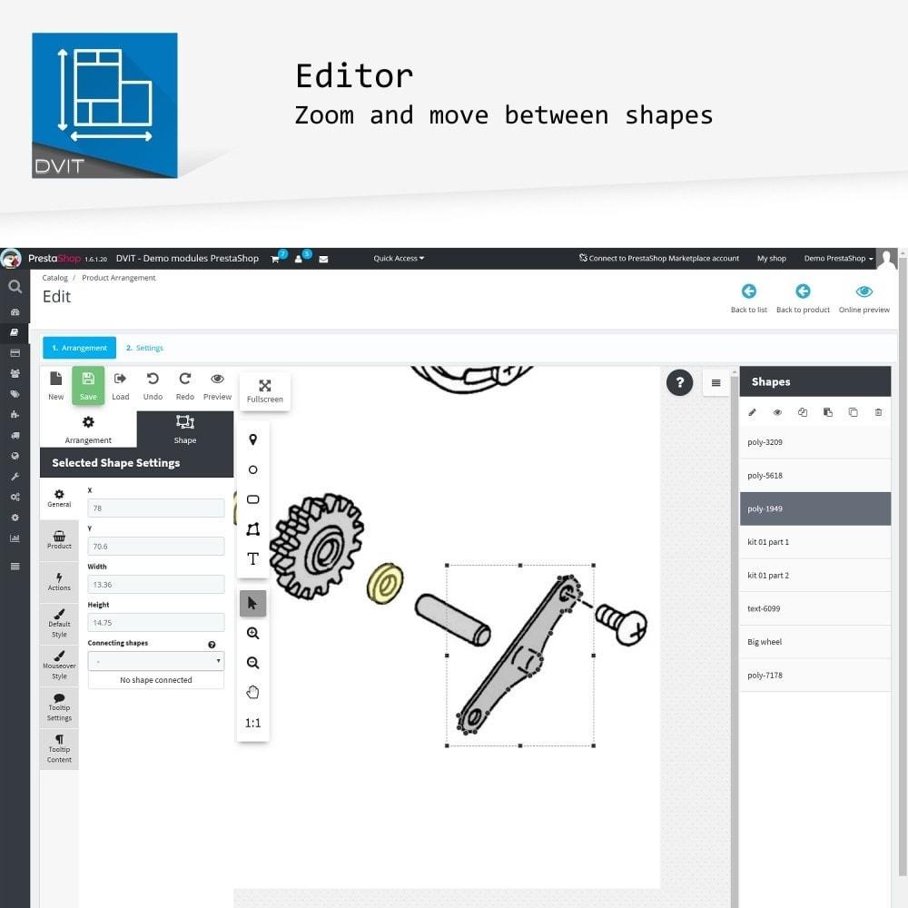 module - Personalisering van pagina's - Product Arrangement - 3