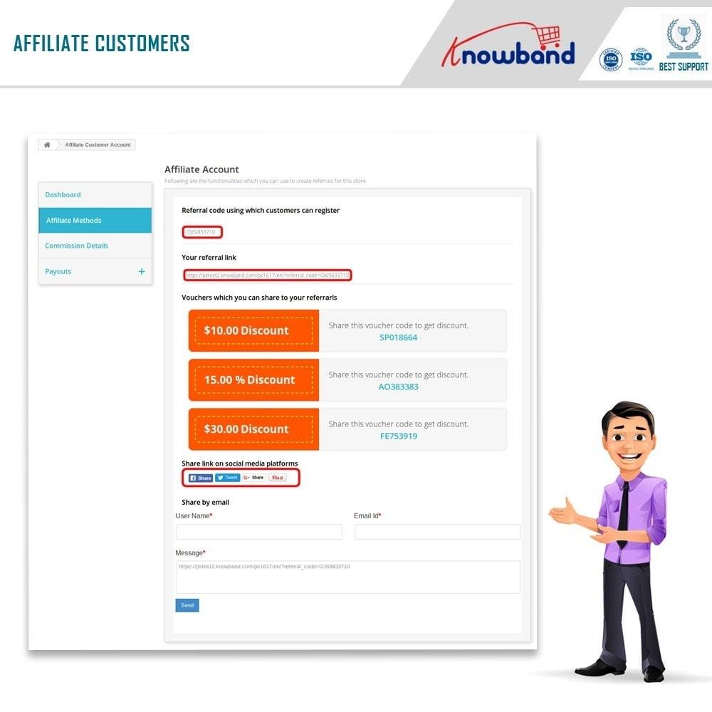 module - Programa de Fidelidad - Knowband - Programa de Afiliados y Referencias - 2