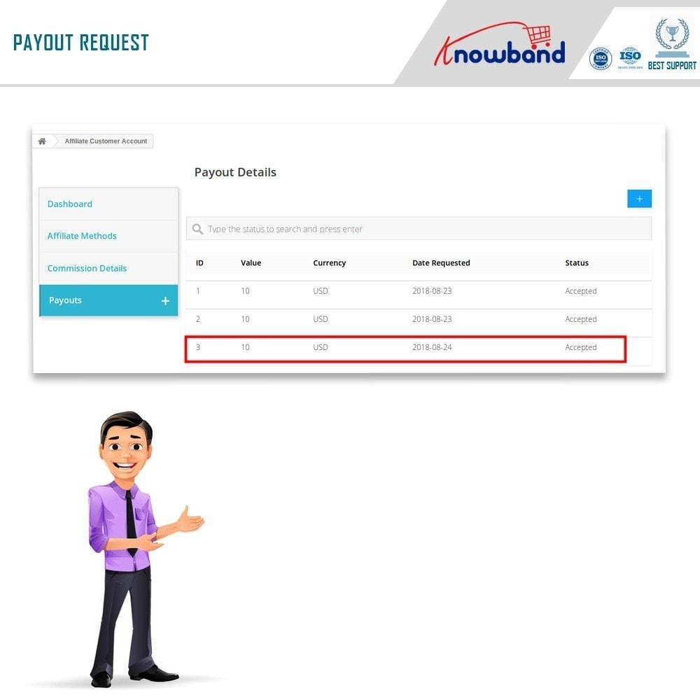 module - Programa de Fidelidad - Knowband - Programa de Afiliados y Referencias - 5