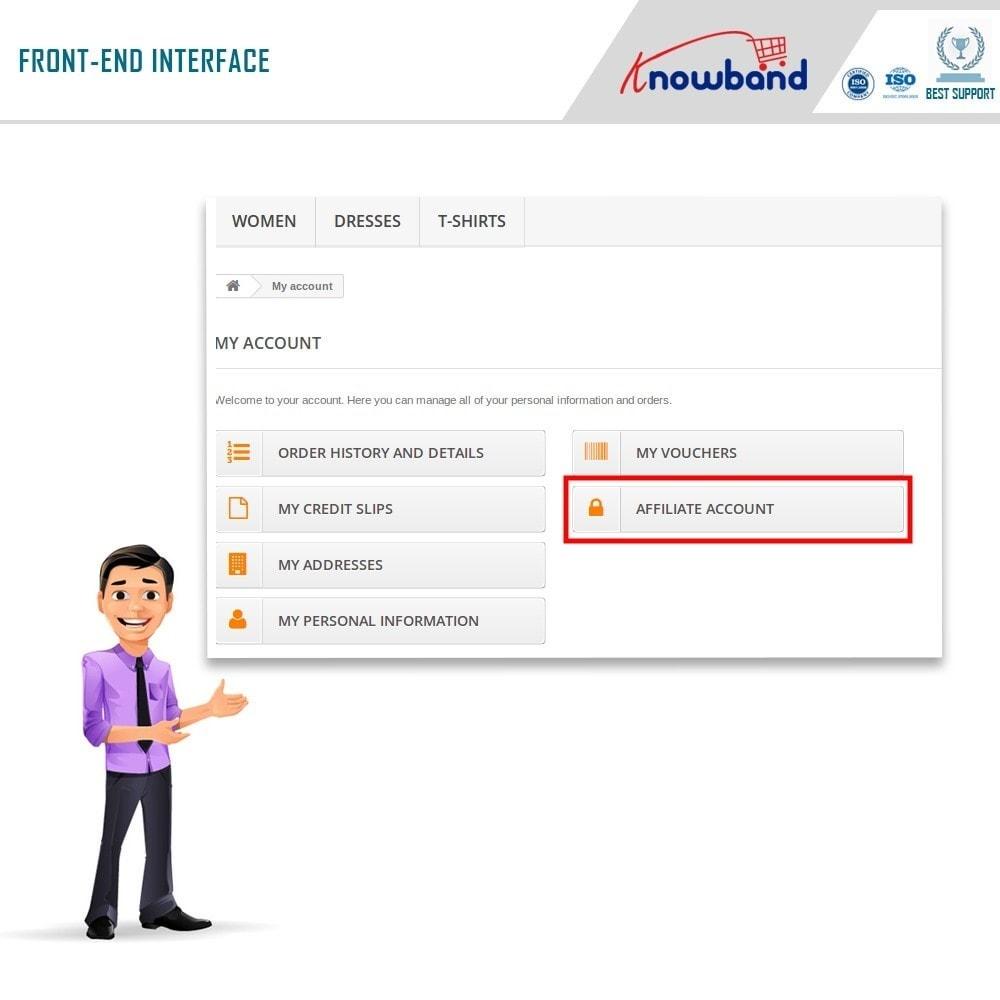 module - Programa de Fidelidad - Knowband - Programa de Afiliados y Referencias - 7