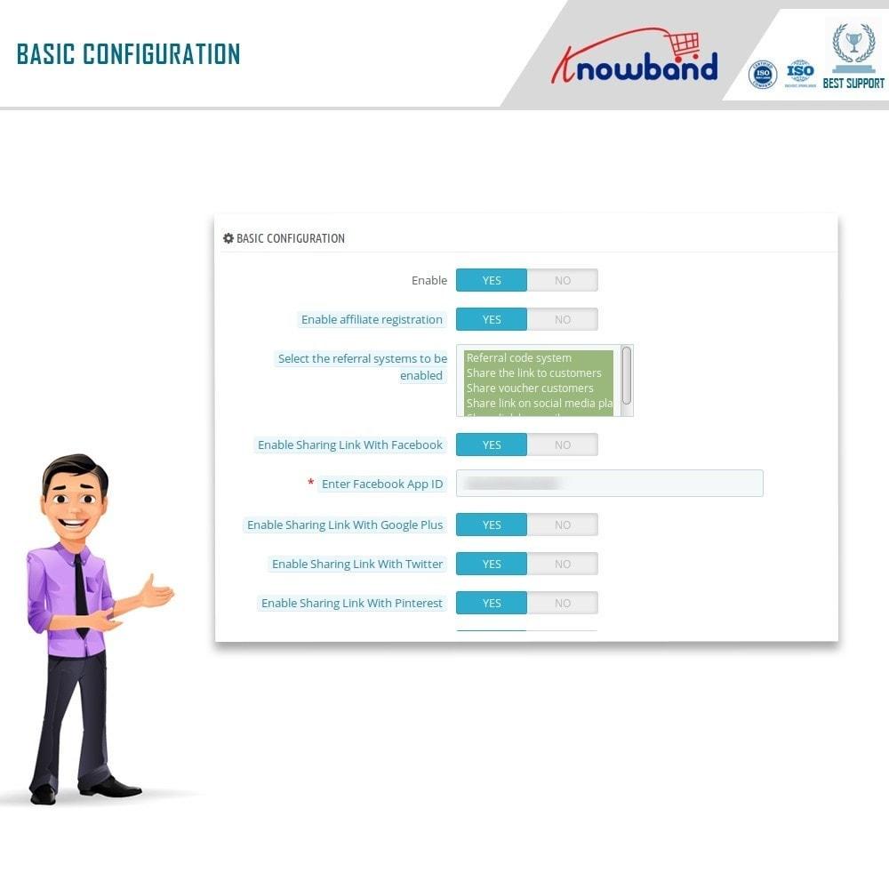 module - Programa de Fidelidad - Knowband - Programa de Afiliados y Referencias - 8