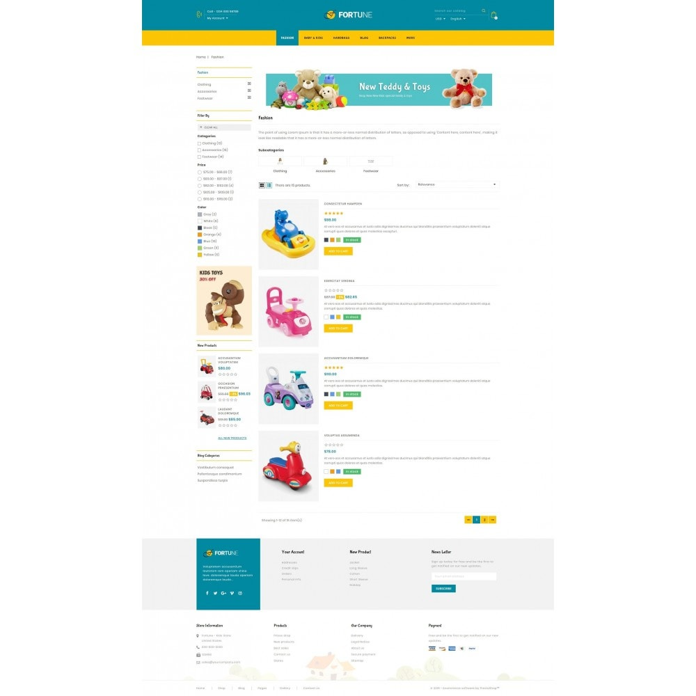 theme - Kids & Toys - Fortune - Kids Store - 4