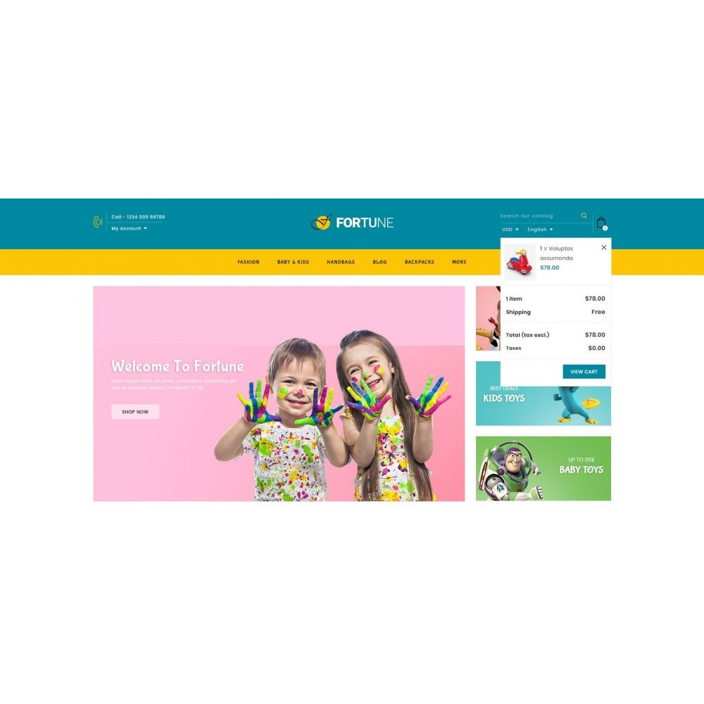 theme - Kids & Toys - Fortune - Kids Store - 8