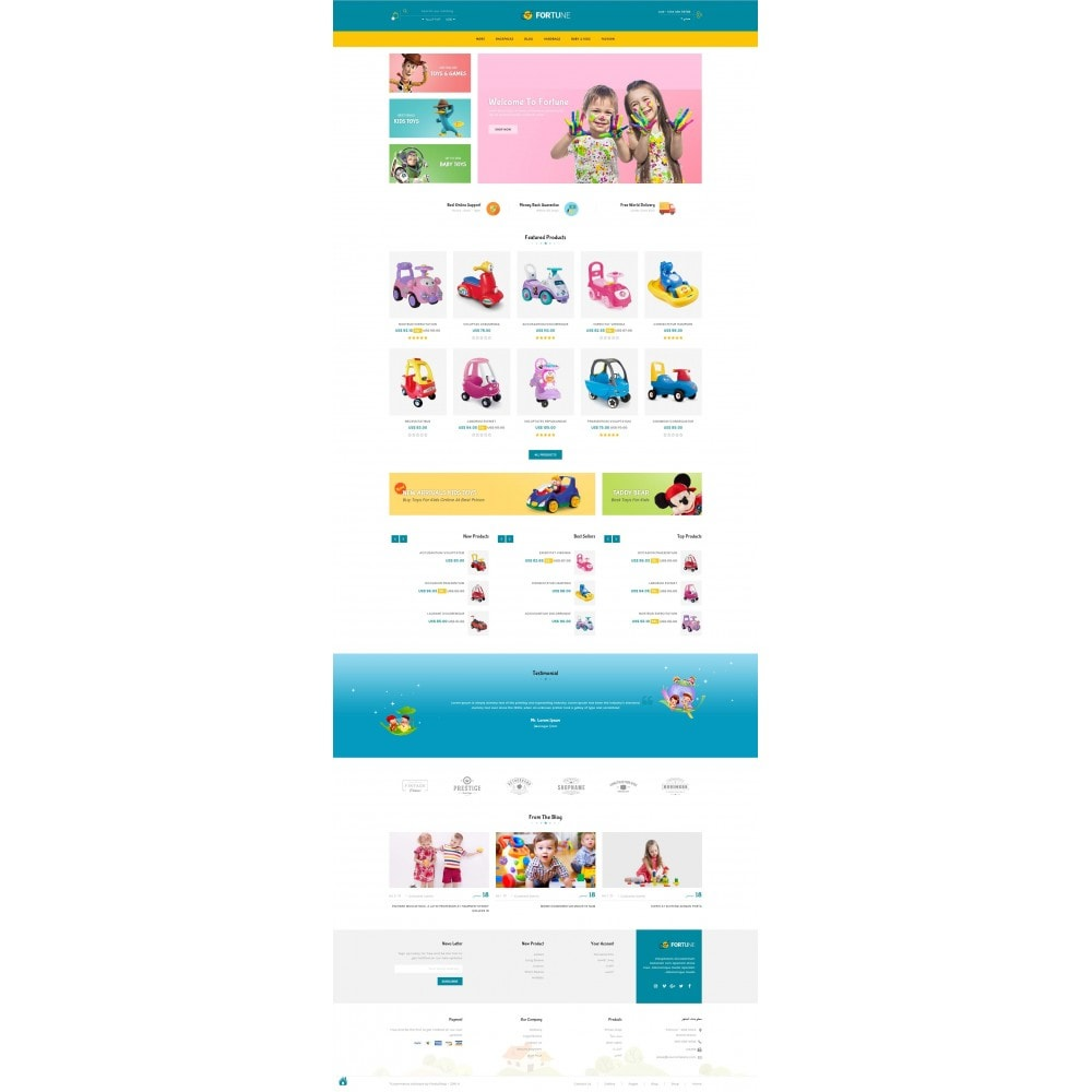 theme - Kids & Toys - Fortune - Kids Store - 10